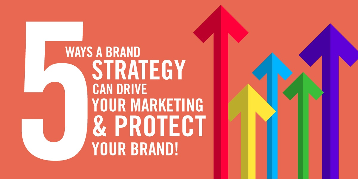 5 Ways a Brand Strategy can Drive your Marketing & Protect your Brand