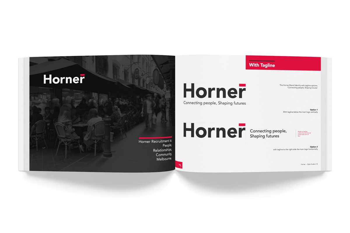 Beam Creative Portfolio-Horner Recruitment Rrebrand