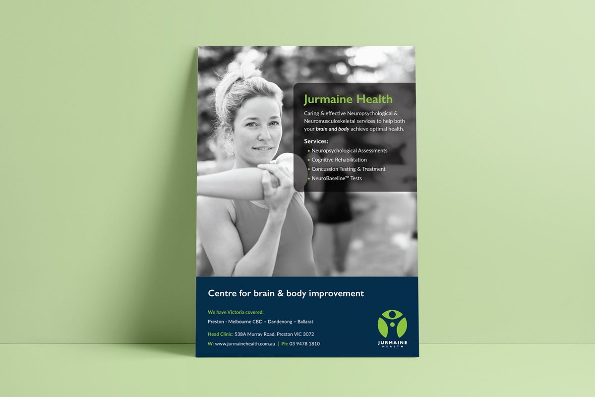 Beam Creative Design Portfolio-Jurmaine Health